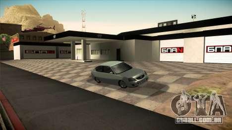 A garagem em Doherty BPAN v 1.1 para GTA San Andreas quinto tela