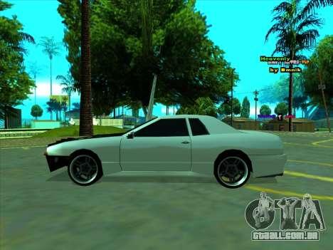 Drift Elegy by zhenya2003 para GTA San Andreas traseira esquerda vista