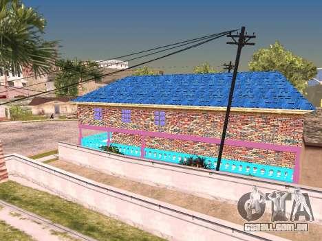 Textura de Karl House para GTA San Andreas sexta tela
