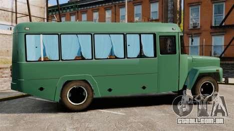 Kavz-3976 para GTA 4 esquerda vista