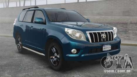 Toyota Land Cruiser Prado 150 para GTA 4