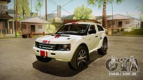 Bowler EXR S 2012 HQLM para GTA San Andreas