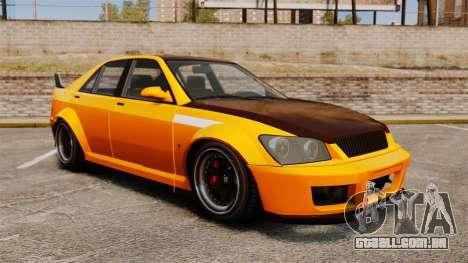 Sedan Sultan RS para GTA 4