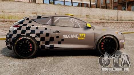 Renault Megane RS N4 para GTA 4 esquerda vista