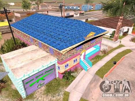 Textura de Karl House para GTA San Andreas terceira tela
