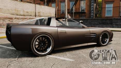 Coquette Targa para GTA 4 esquerda vista