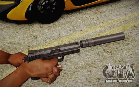 USP45 com silenciador para GTA San Andreas segunda tela