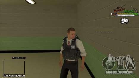 Polícia de San Angeles Pak peles para GTA San Andreas quinto tela