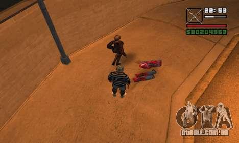 DeadPool Mod para GTA San Andreas quinto tela