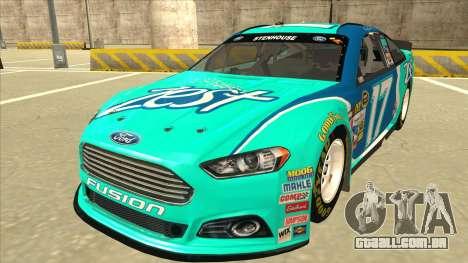 Ford Fusion NASCAR No. 17 Zest Nationwide para GTA San Andreas