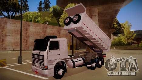 Scania 113H Frontal estaca BETA para GTA San Andreas vista traseira