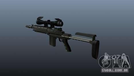 Automatic rifle M14 EBR v2 para GTA 4 segundo screenshot