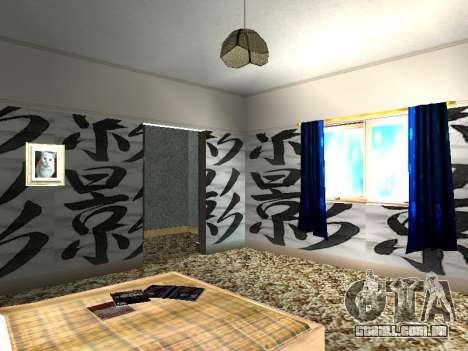 Novo edifício de 2 andares interior CJ para GTA San Andreas décima primeira imagem de tela