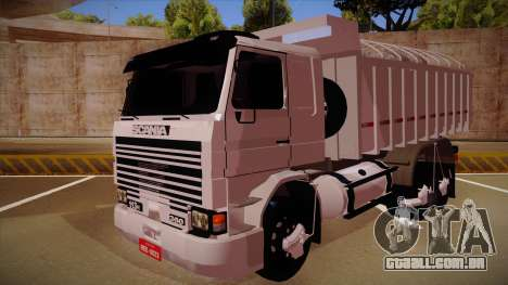 Scania 113H Frontal estaca BETA para GTA San Andreas