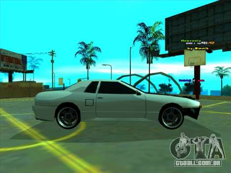 Drift Elegy by zhenya2003 para GTA San Andreas esquerda vista