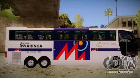 Busscar Jum Buss 400 P Volvo para GTA San Andreas traseira esquerda vista