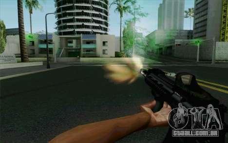 MK107 PDW para GTA San Andreas quinto tela