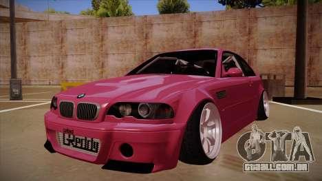 BMW M3 E46 Stance para GTA San Andreas