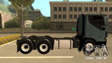 Iveco Hi-Land para GTA San Andreas traseira esquerda vista