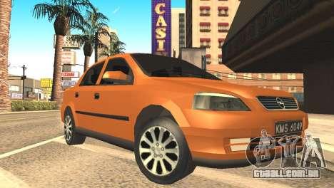 Opel Astra 1.6 TDi SEDAN para GTA San Andreas
