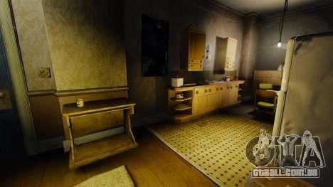 Novas texturas no primeiro apartamento da novela para GTA 4 por diante tela