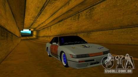 Nissan Silvia S13 MGDT para GTA San Andreas vista traseira