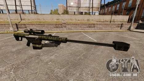 O Barrett M82 sniper rifle v7 para GTA 4
