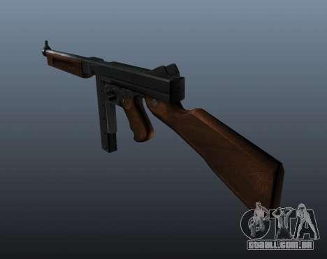 V2 de metralhadora M1a1 Thompson para GTA 4 segundo screenshot