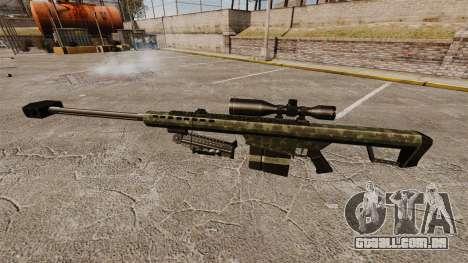 O Barrett M82 sniper rifle v7 para GTA 4 terceira tela