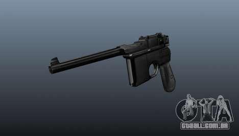 Mauser pistola v2 para GTA 4