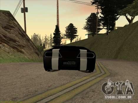 New Jester para GTA San Andreas esquerda vista