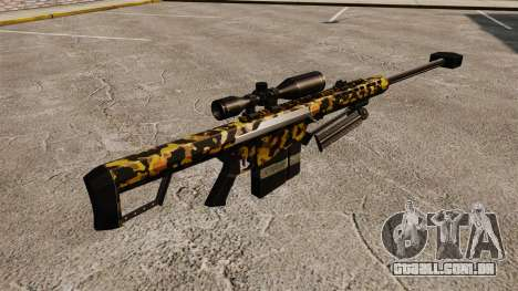 O Barrett M82 sniper rifle v11 para GTA 4 segundo screenshot