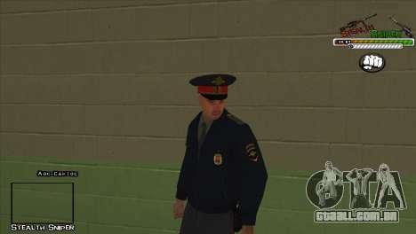 Polícia de San Angeles Pak peles para GTA San Andreas décima primeira imagem de tela