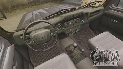 UAZ-315195 Hunter para GTA 4 vista interior