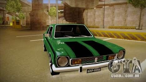 Ford Corcel GT 1975 para GTA San Andreas esquerda vista