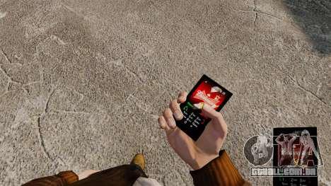 Temas para celular marcas de bebidas para GTA 4