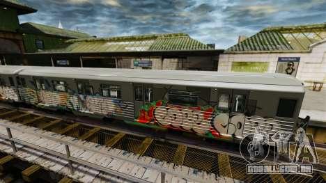 Novas pichações no metrô v2 para GTA 4 segundo screenshot