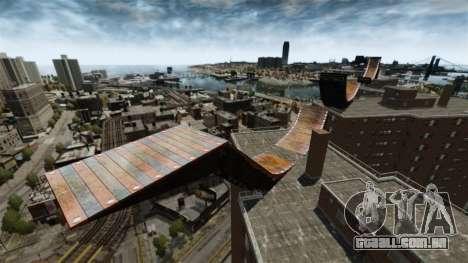 Rampa de GTA IV para GTA 4 quinto tela