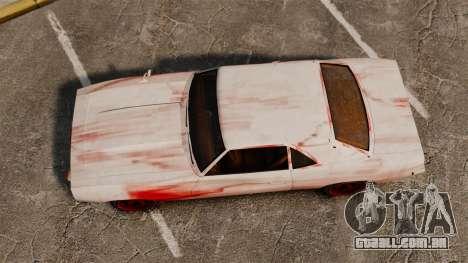 Nova coloração para Vigero enferrujado para GTA 4 vista direita