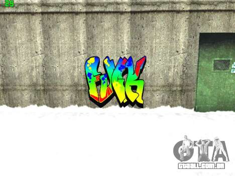 Graffity mod para GTA San Andreas oitavo tela