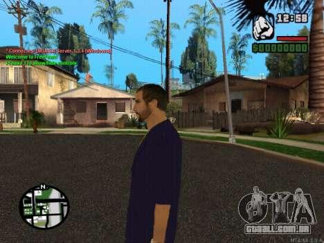 New Andre para GTA San Andreas por diante tela