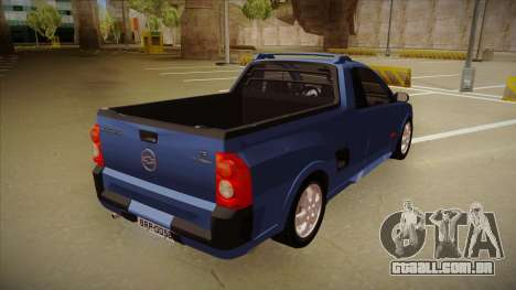 Chevrolet Montana Sport 2008 para GTA San Andreas vista direita