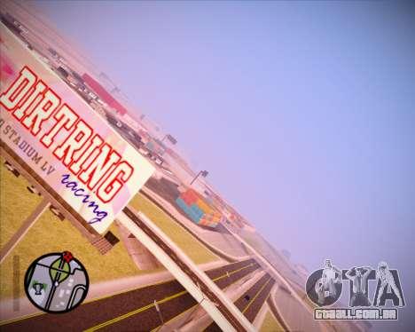 SA Graphics HD v 1.0 para GTA San Andreas por diante tela