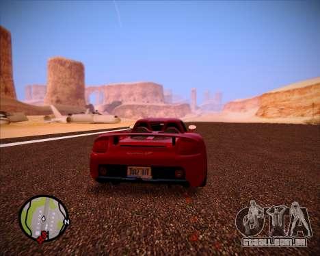 SA Graphics HD v 1.0 para GTA San Andreas nono tela