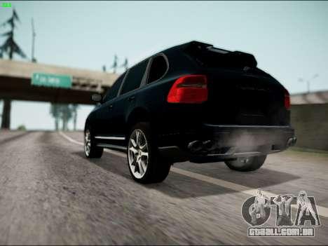 Porsche Cayenne para GTA San Andreas esquerda vista