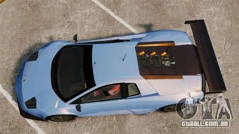 Lamborghini Murcielago RSV FIA GT1 v3.0 para GTA 4 vista direita