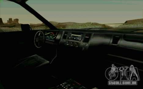 Gang Burrito para GTA San Andreas vista interior
