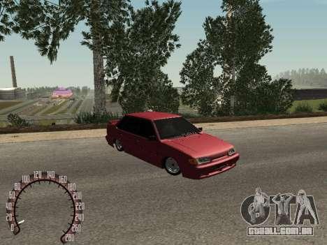 BPAN VAZ 2115 para GTA San Andreas esquerda vista