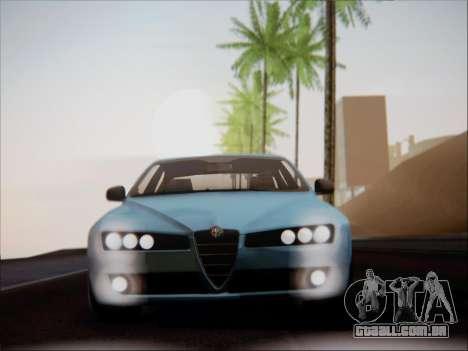 Alfa Romeo 159 Sedan para GTA San Andreas vista interior