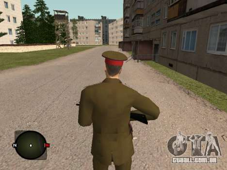 Major-General do exército russo para GTA San Andreas terceira tela